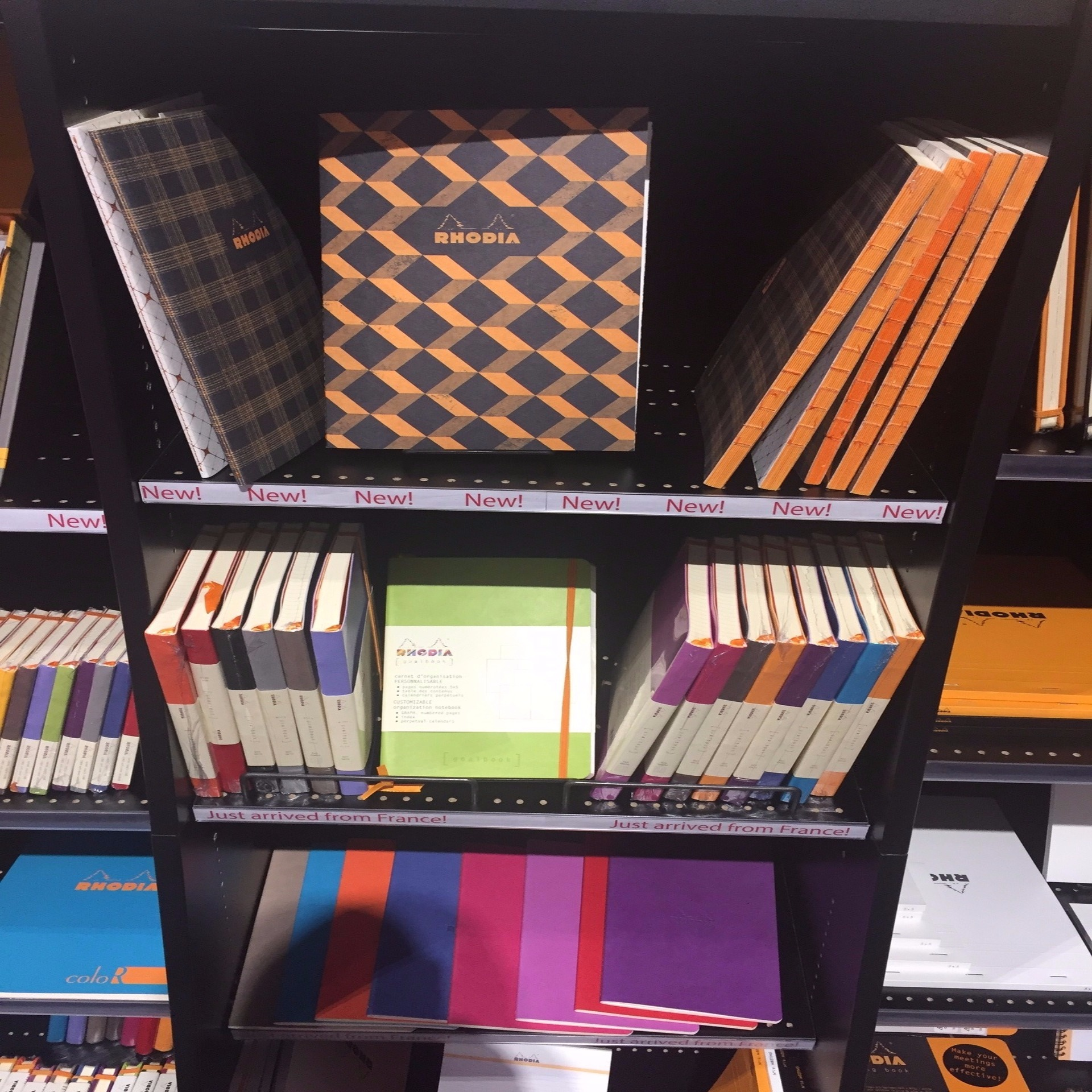 Rhodia Paper at the NY Stationery Show