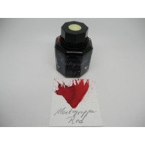 Montegrappa Red Fountain Pen Ink