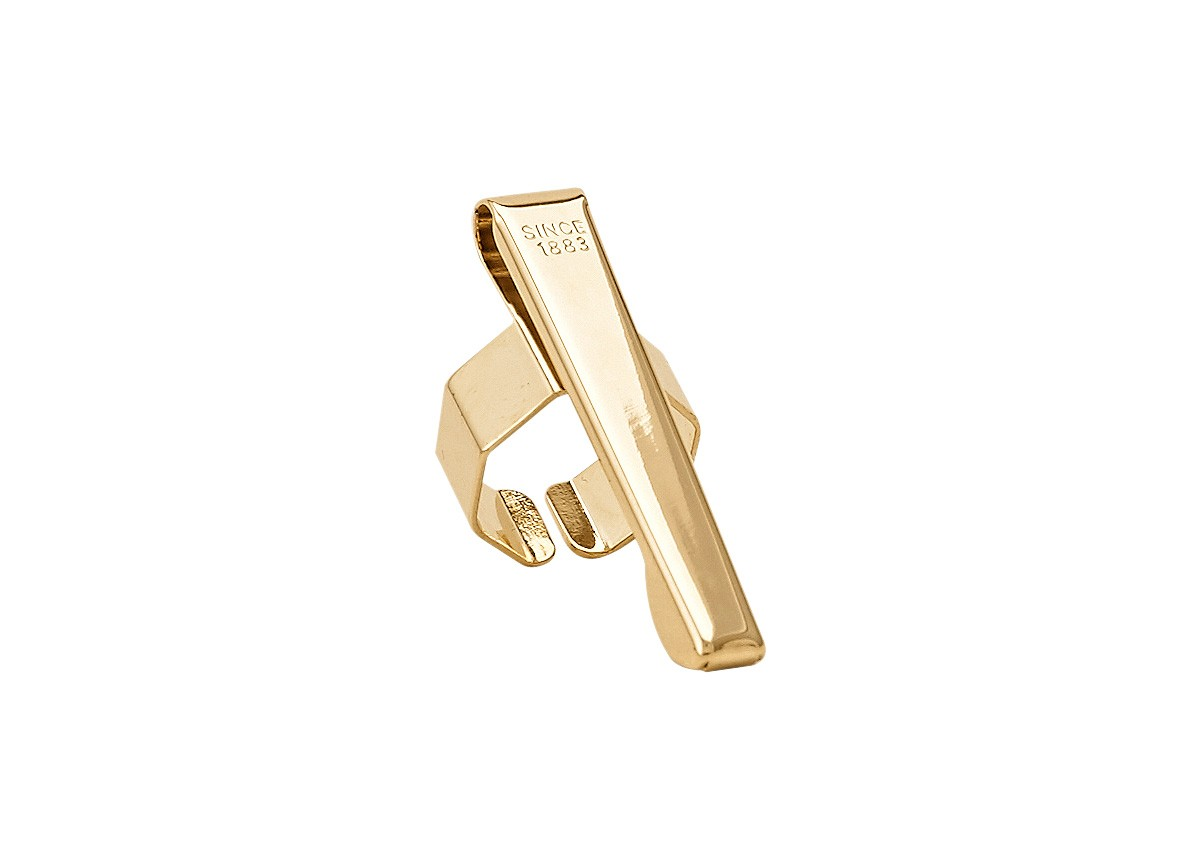 Kaweco Clip Slide-On Octagonal Gold-Plated