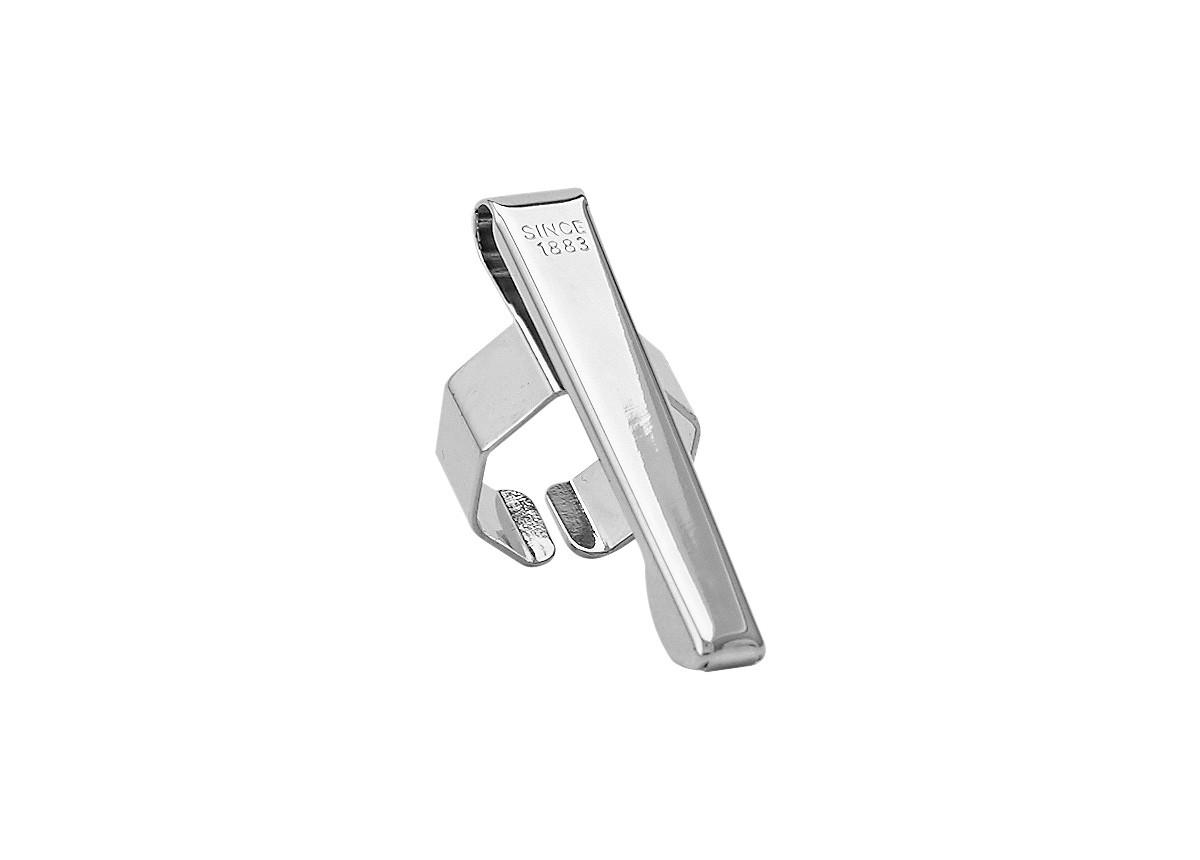 Kaweco Clip Slide-On Octagonal Nickel-Plated