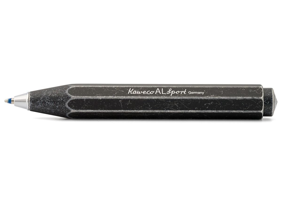 Kaweco AL Sport Stonewashed Black Ballpoint Pen