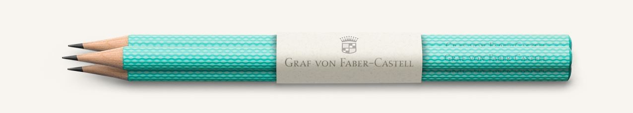 Graf von Faber Castell Perfect Pencils Guilloche, Turquoise