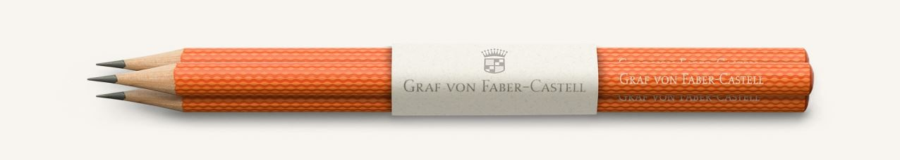 Graf von Faber Castell Perfect Pencils Guilloche, Burned Orange