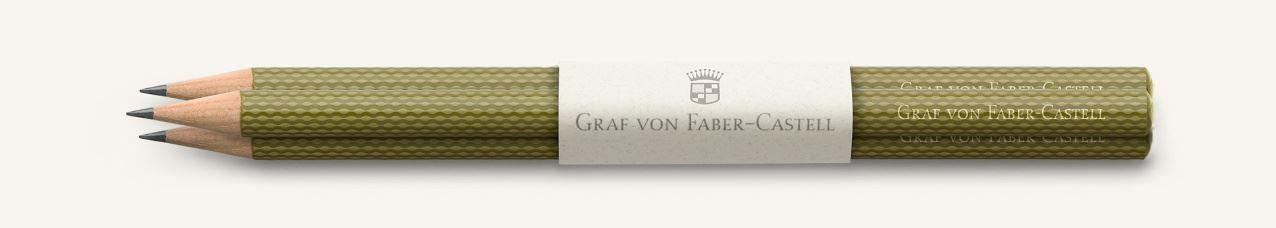 Graf von Faber Castell Perfect Pencils Guilloche, Olive Green