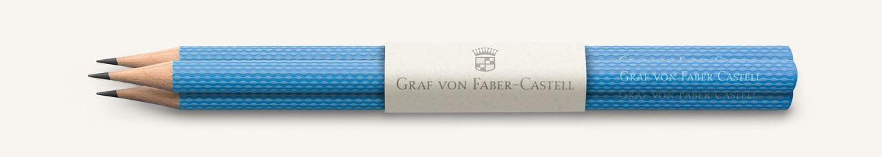 Graf von Faber Castell Perfect Pencils Guilloche, Gulf Blue