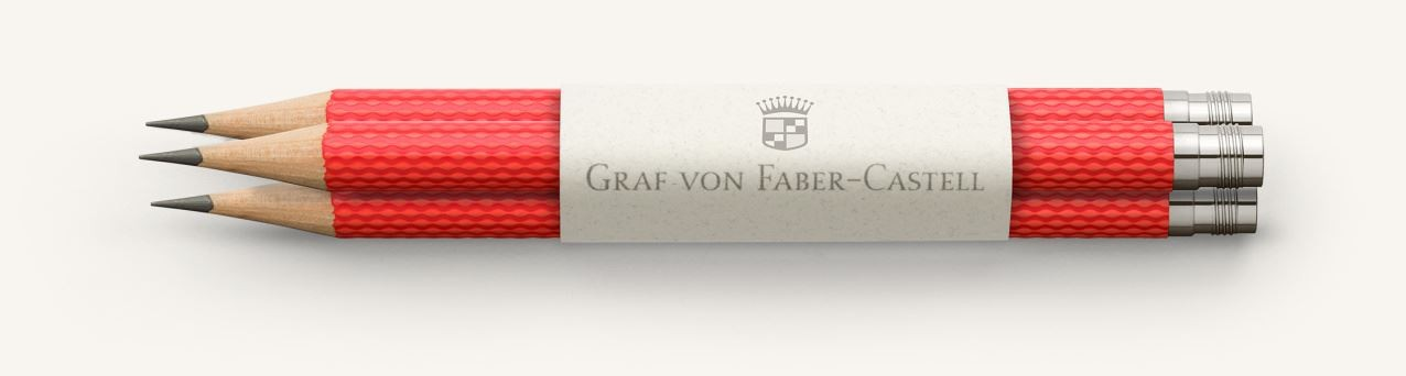 Graf von Faber Castell Perfect Pencils Guilloche, India Red