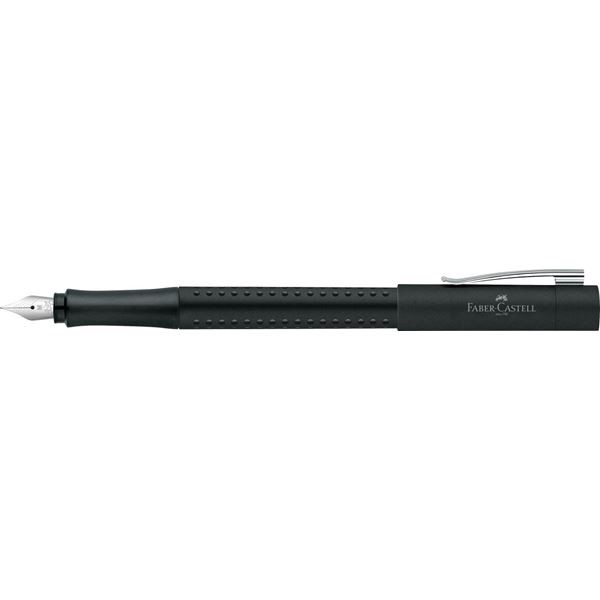 Faber Castell Grip 2011 Black Fountain Pen