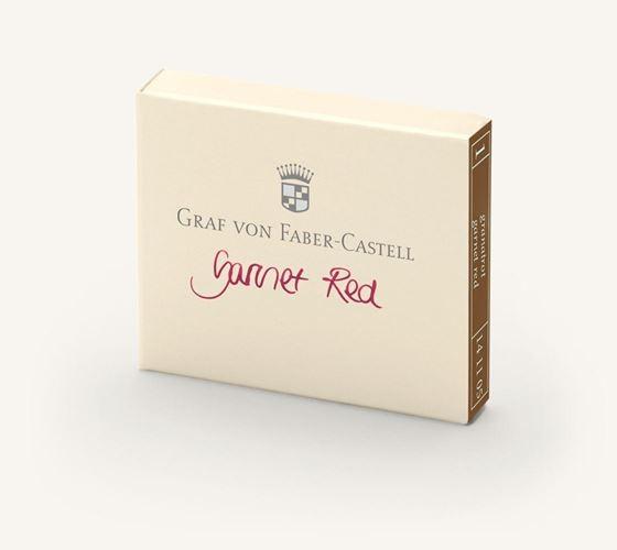 Graf von Faber-Castell Fountain Pen Ink Cartridges Garnet Red