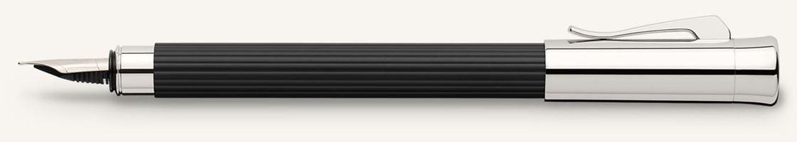 Graf von Faber Castell Tamitio Black Fountain Pen