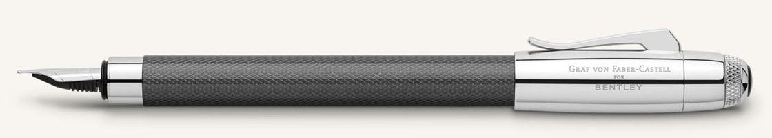 Graf von Faber Castell for Bentley Tungsten Fountain Pen