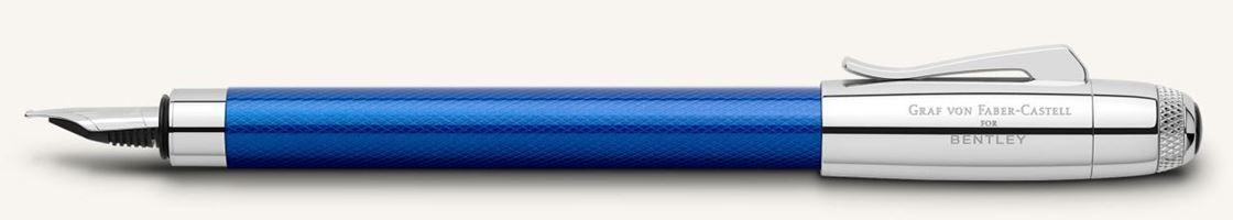 Graf von Faber Castell for Bentley Sequin Blue Fountain Pen
