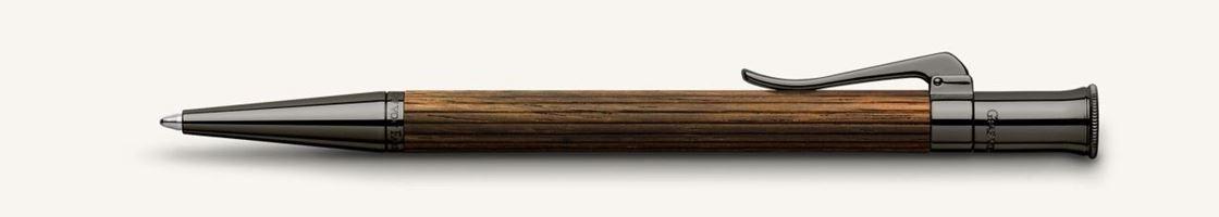 Graf  Von Faber-Castell Mcassar Wood Classic Ballpoint