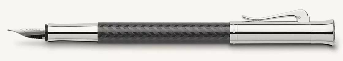 Graf von Faber-Castell Guilloche Chevron Fountain Pen