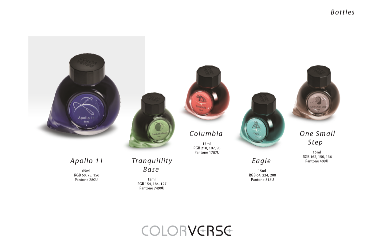Colorverse Apollo 11 Moon Landing Limited Edition Ink
