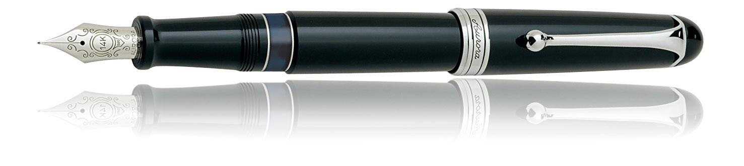 Aurora 88 Large Fountain Pen with Nik Argenta Trim