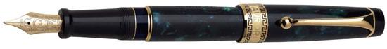 Aurora Optima Green Auroloide Fountain Pen