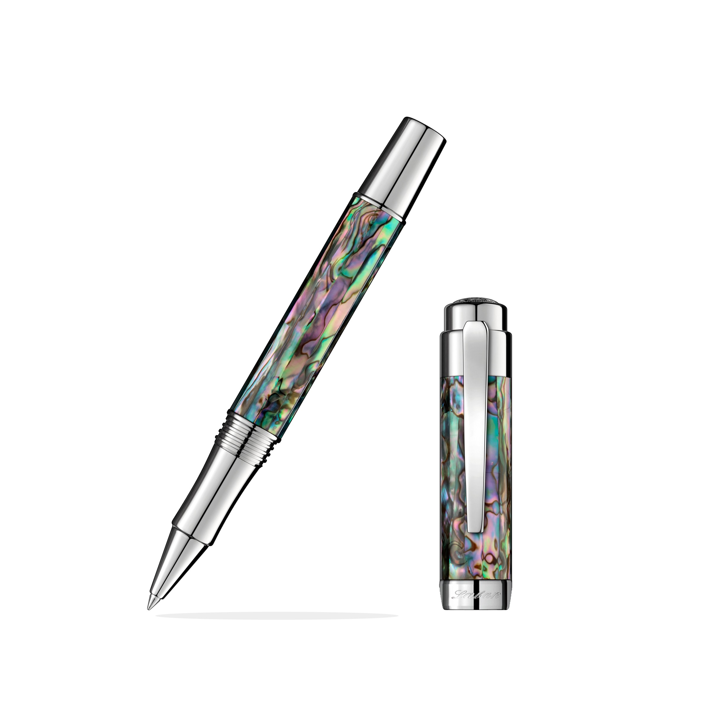 Laban Abalone Chrome Rollerball