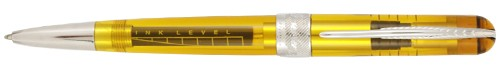 Pineider Avatar UR Demonstrator Amber Ballpoint Pen