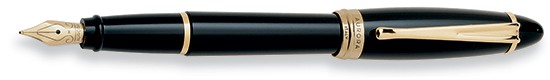 Aurora Ipsilon Resin Black Fountain Pen