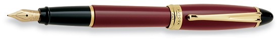 Aurora Ipsilon Resin Bordeaux Fountain Pen