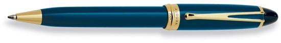 Aurora Ipsilon Deluxe Blue With Gold Ballpoint