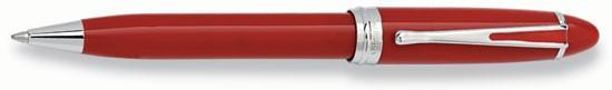Aurora Ipsilon Deluxe Red With Chrome Ballpoint