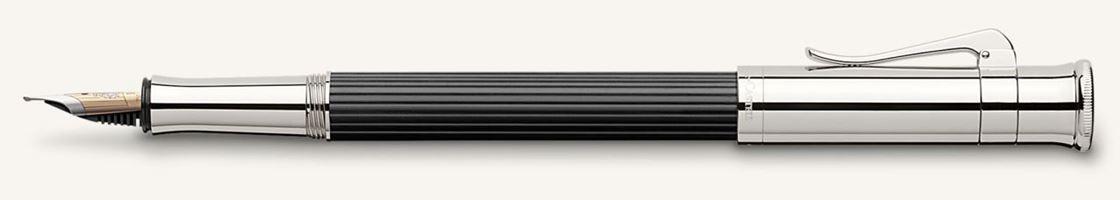Graf Von Faber Castell Classic Ebony Fountain Pen