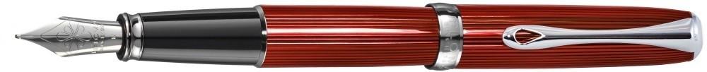 Diplomat Excellence A² Skyline Red Fountain Pen Steel Nib