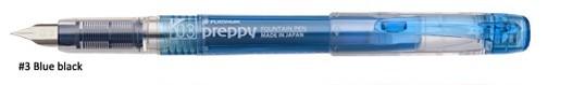 Platinum Preppy Fountain Pen Blue/Black