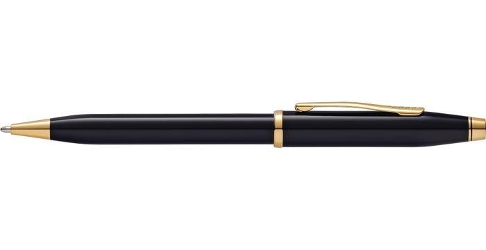 Cross Century II Black Lacquer Ballpoint Pen