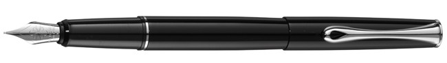 Diplomat Esteem Black Lacquer Fountain Pen