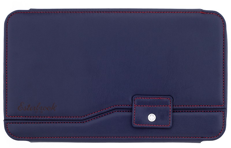 Esterbrook Nook Twelve Pen Case Navy Blue
