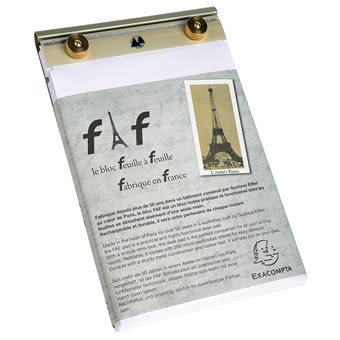 "Exacompta FAF 4"" x 6.25"" Desk Pad"