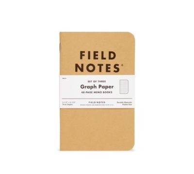 Field Notes Graph 3 Pack