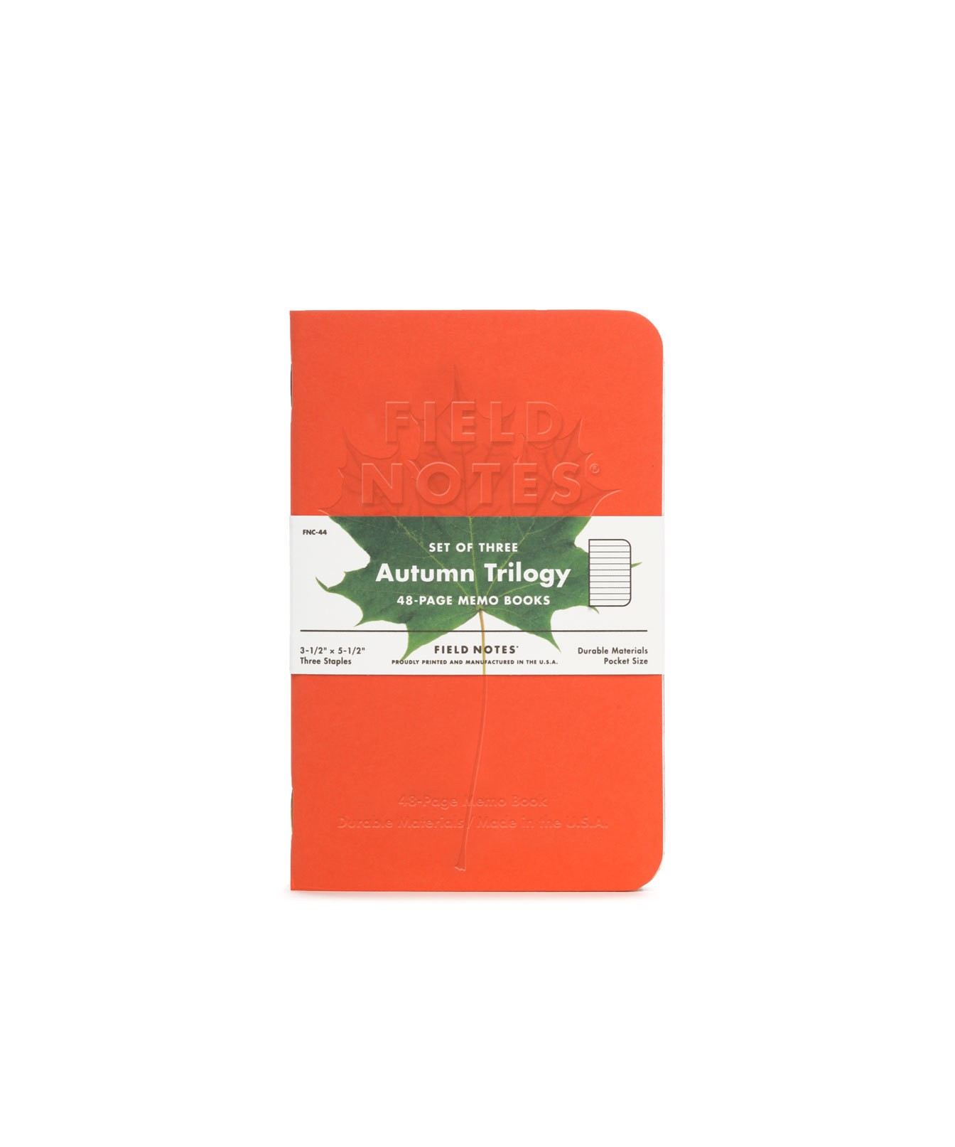 Field Notes Autumn Trilogy 3 Pack