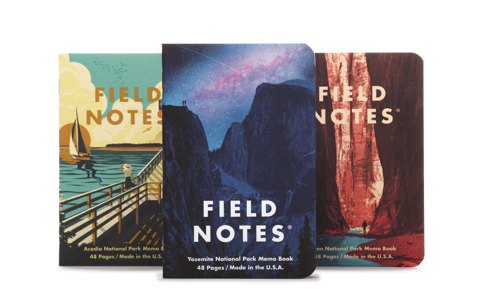 Field Notes National Parks Edition Series A 3-Pack