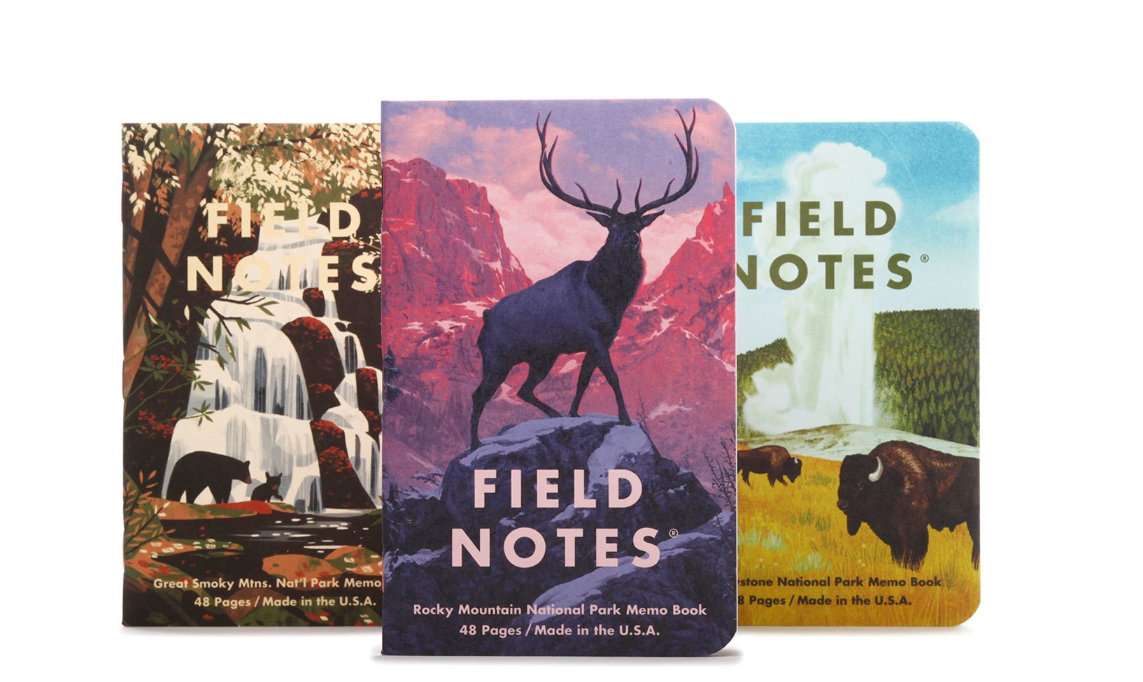 Field Notes National Parks Edition Series C 3-Pack