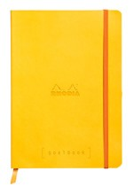 Rhodia Goalbook - Yellow, Dot Grid