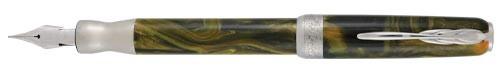 Pineider La Grande Bellezza Gemstone Tiger's Yellow Fountain Pen