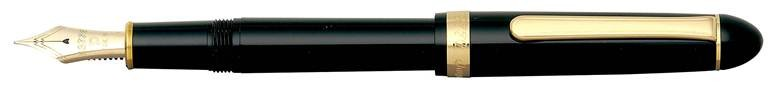 Platinum #3776 Century Black In Black Fountain Pen