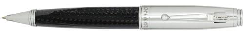 Monteverde Invincia Carbon Fiber Chrome Ballpoint Pen