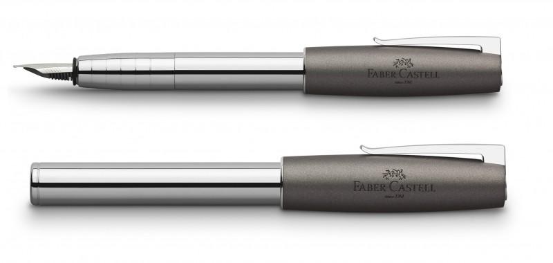 Faber Castell Loom Metallic Grey Fountain Pen