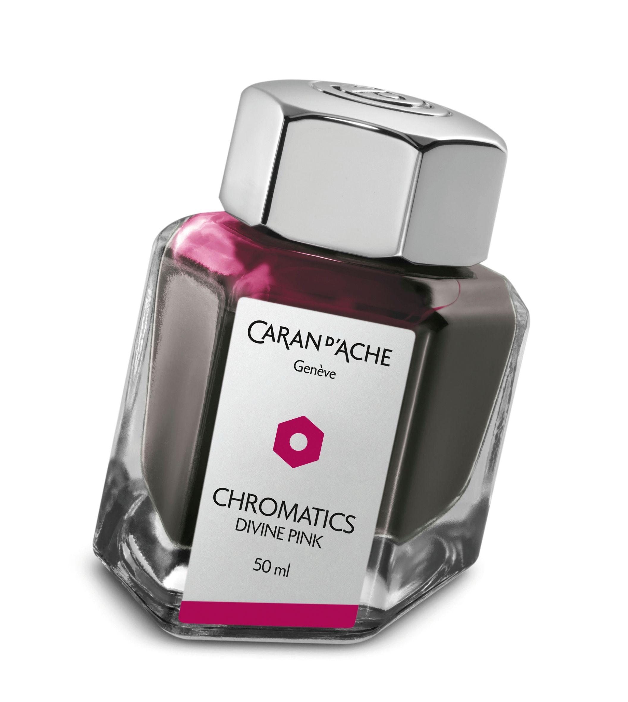 Caran d'Ache Chromatics Bottled Ink Divine Pink