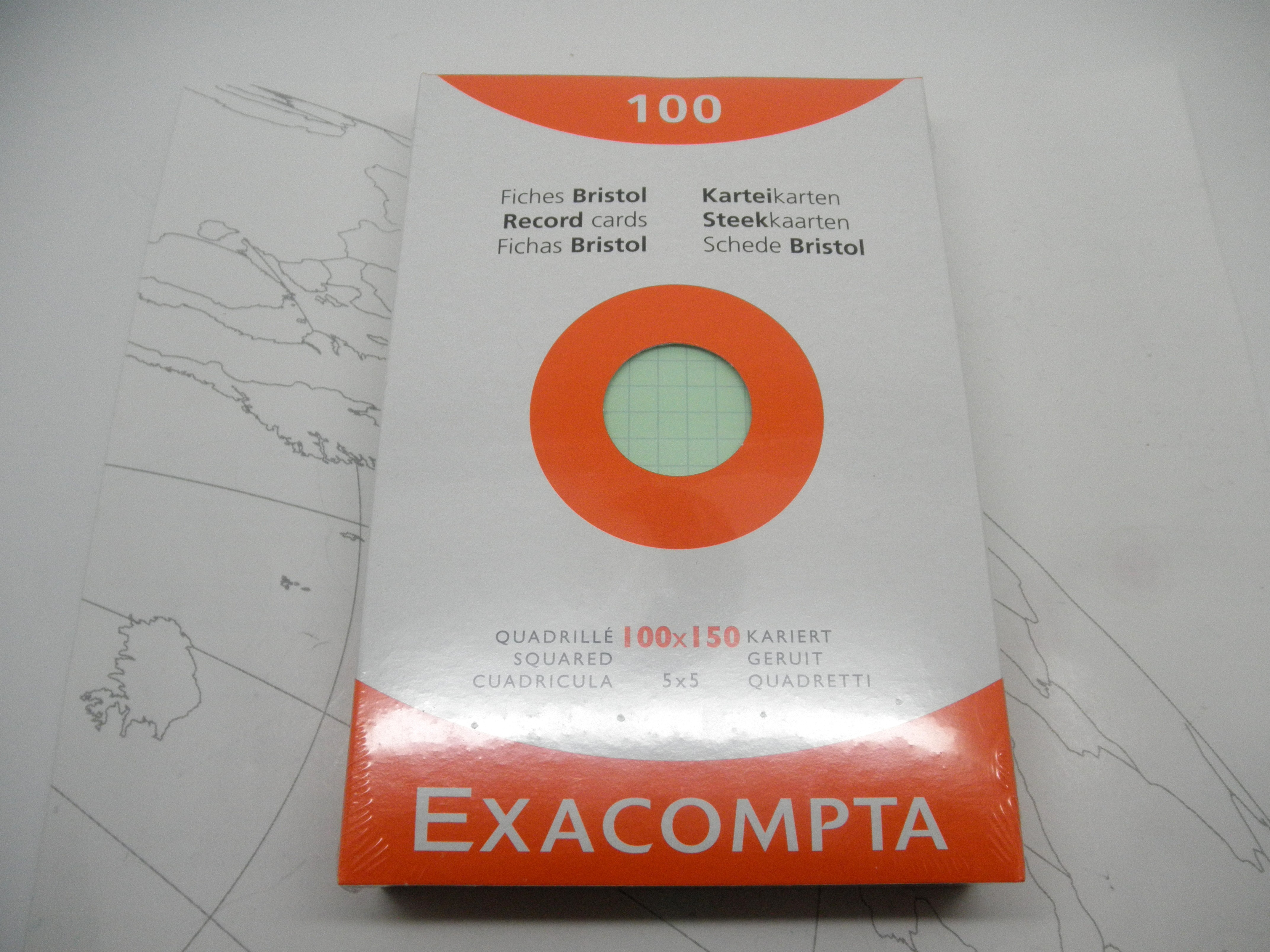 Exacompta Index Cards 4 x 6