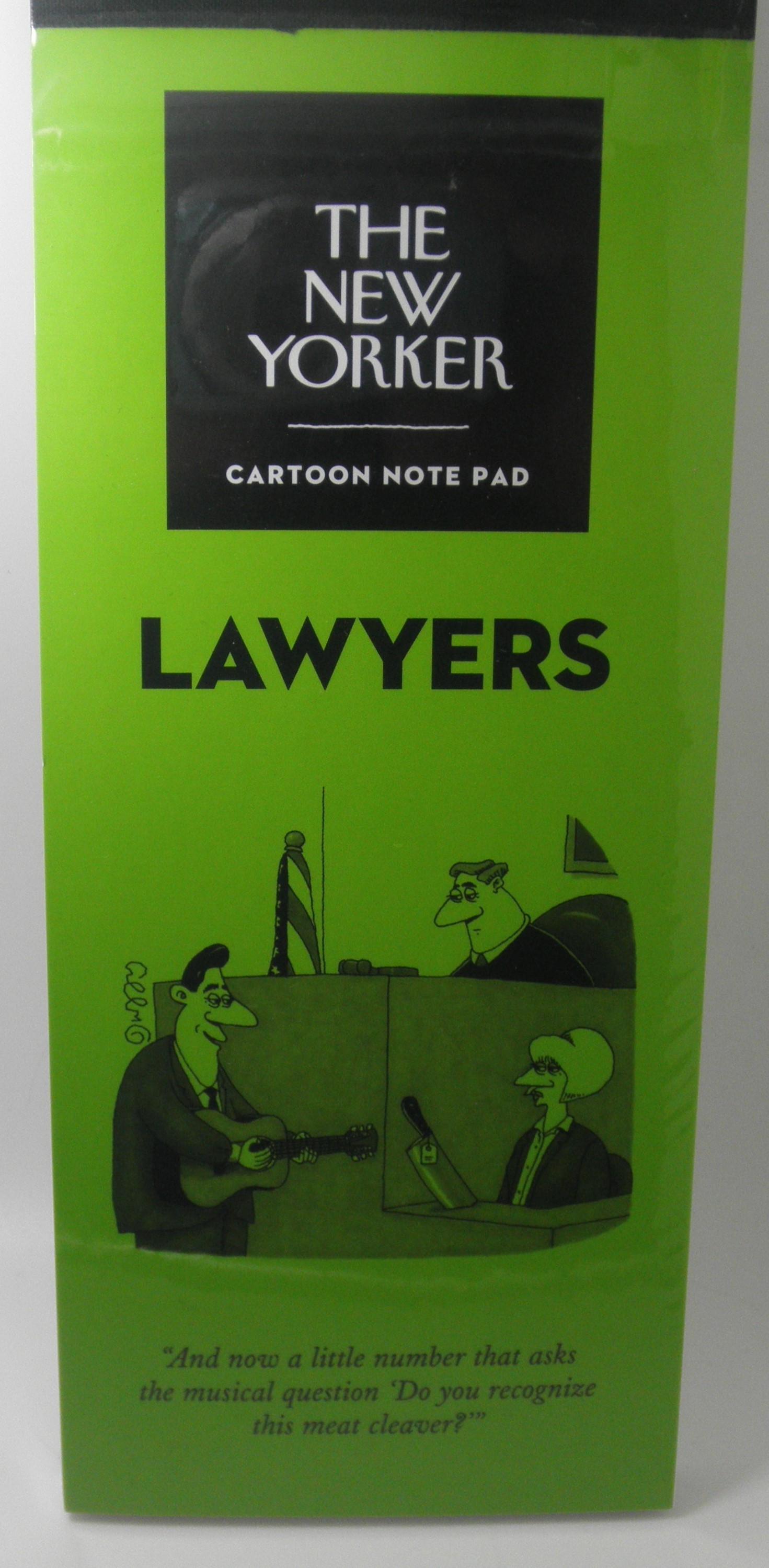 The New Yorker Cartoon Notepad Lawyers