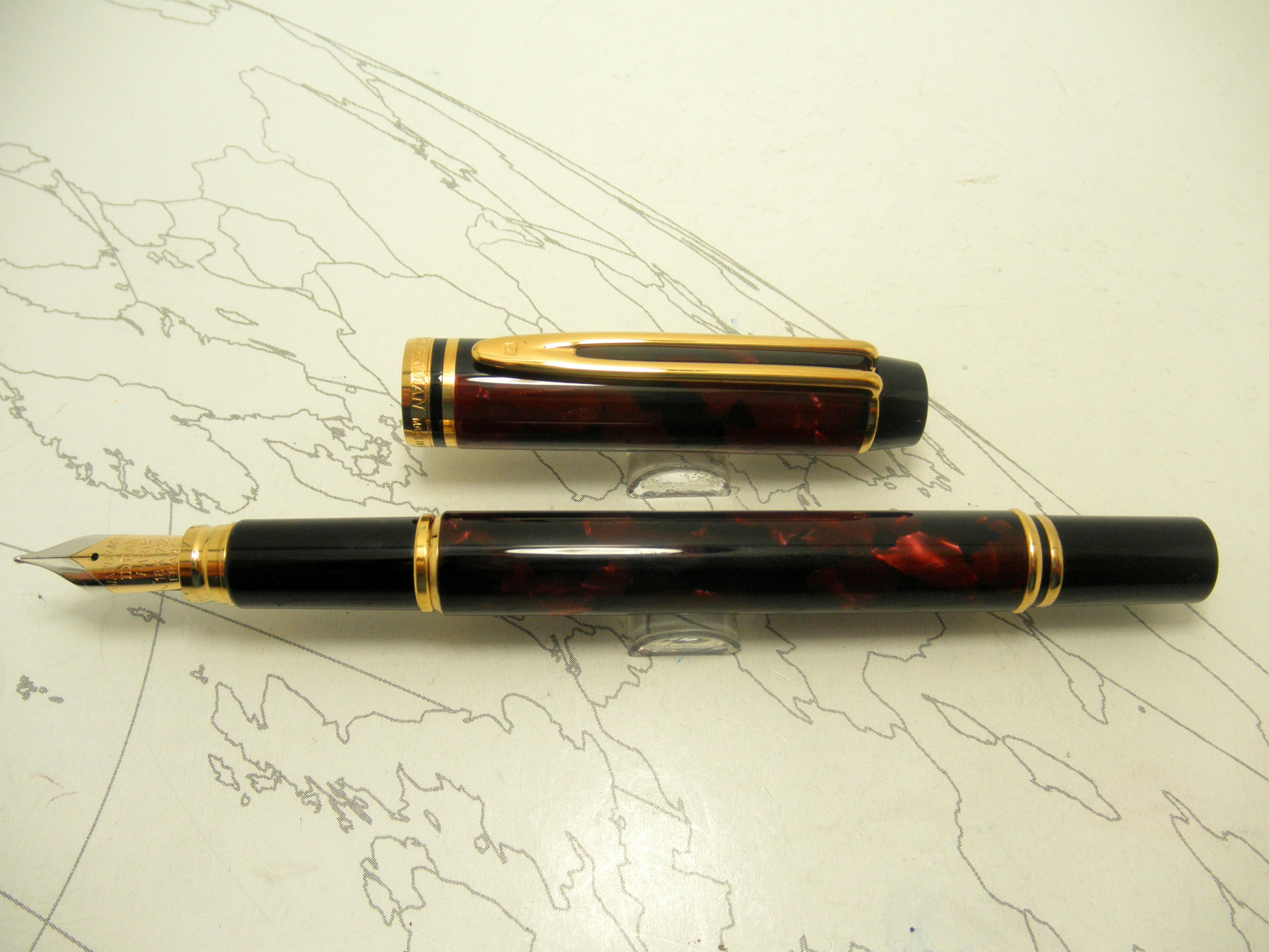 Waterman Rhapsody Red Fountain Pen