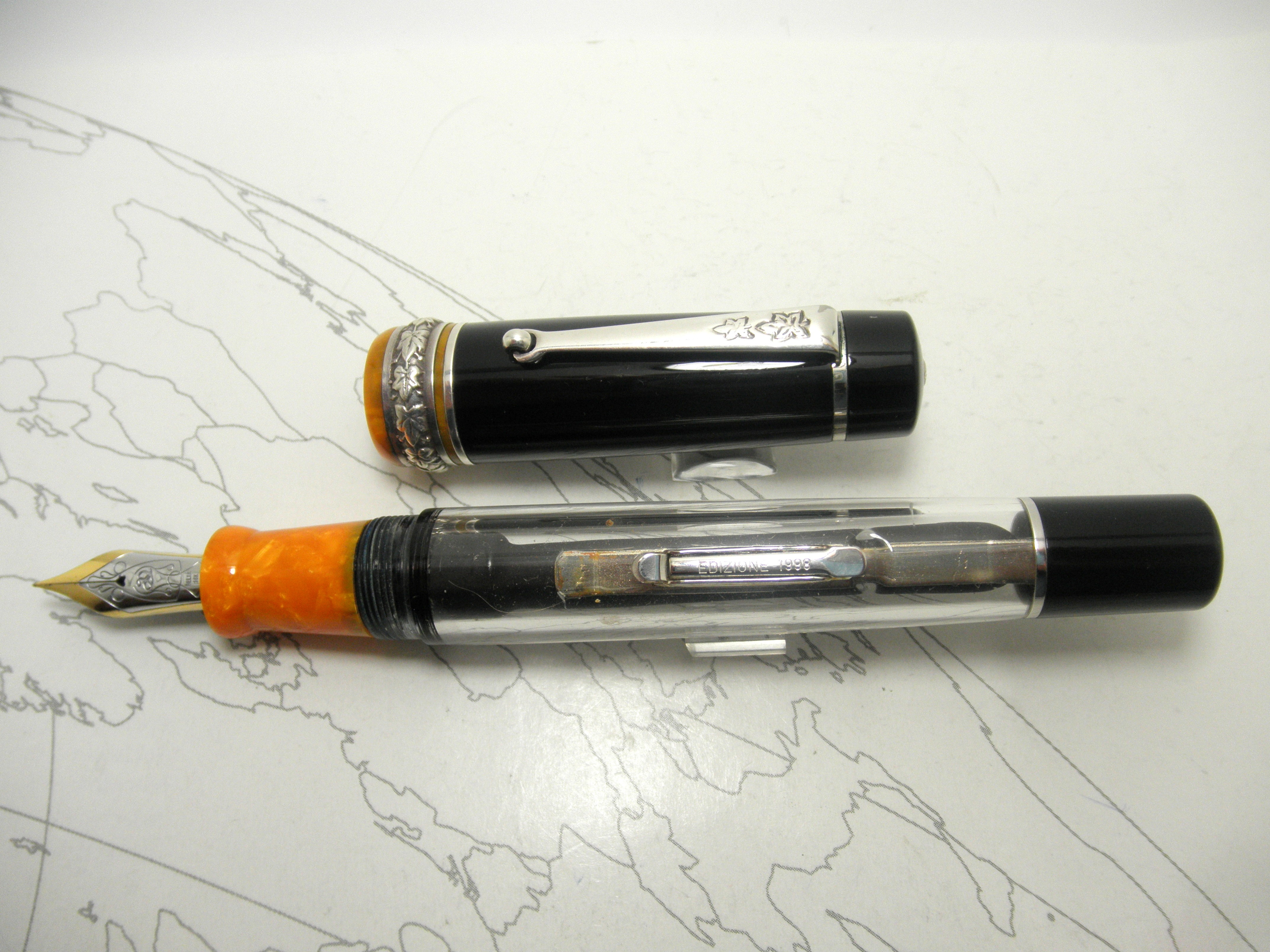 Delta Colosseum Demonstrator Fountain Pen