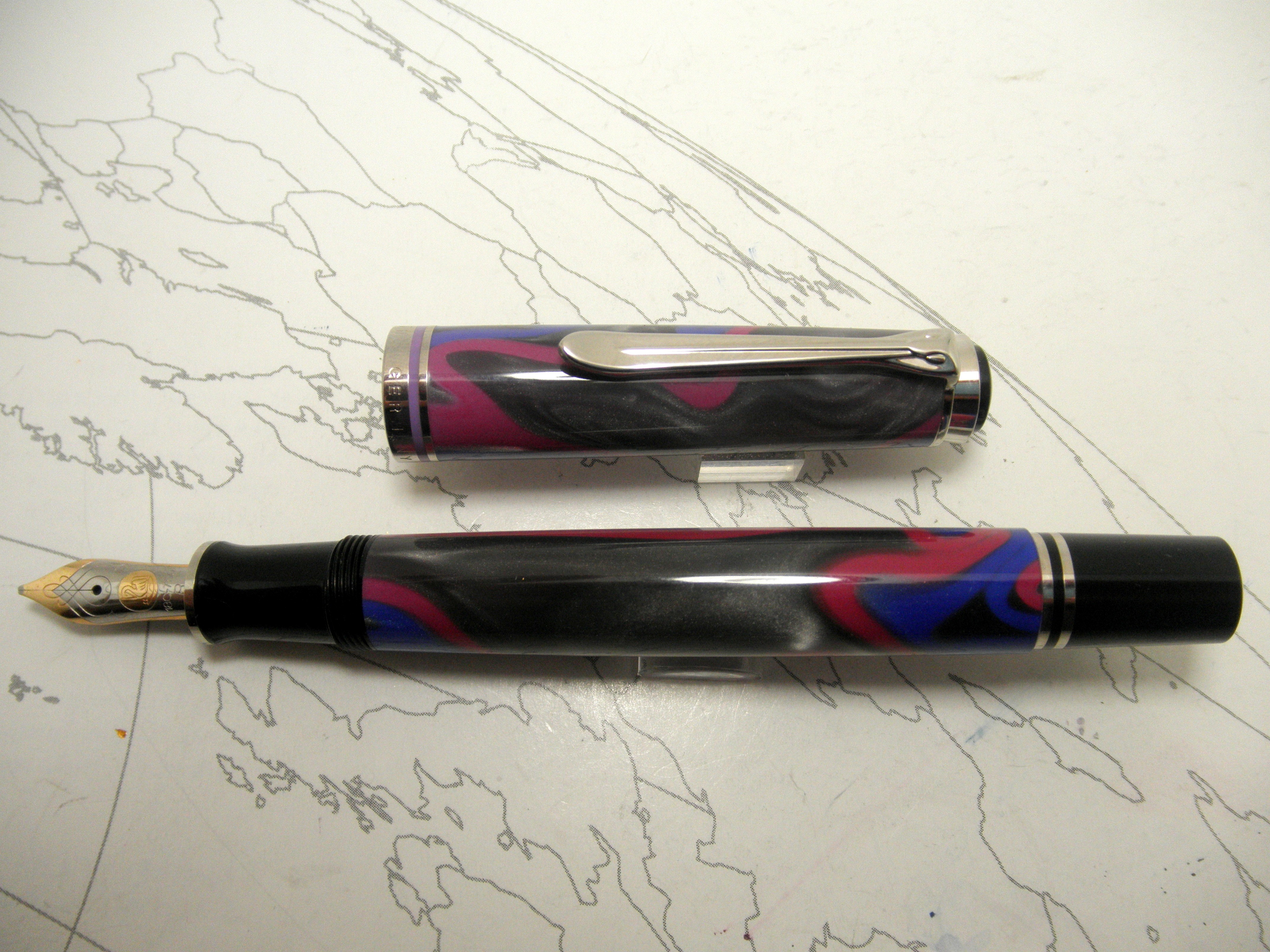 Pelikan M620 Grand Places - Piccadilly Circus