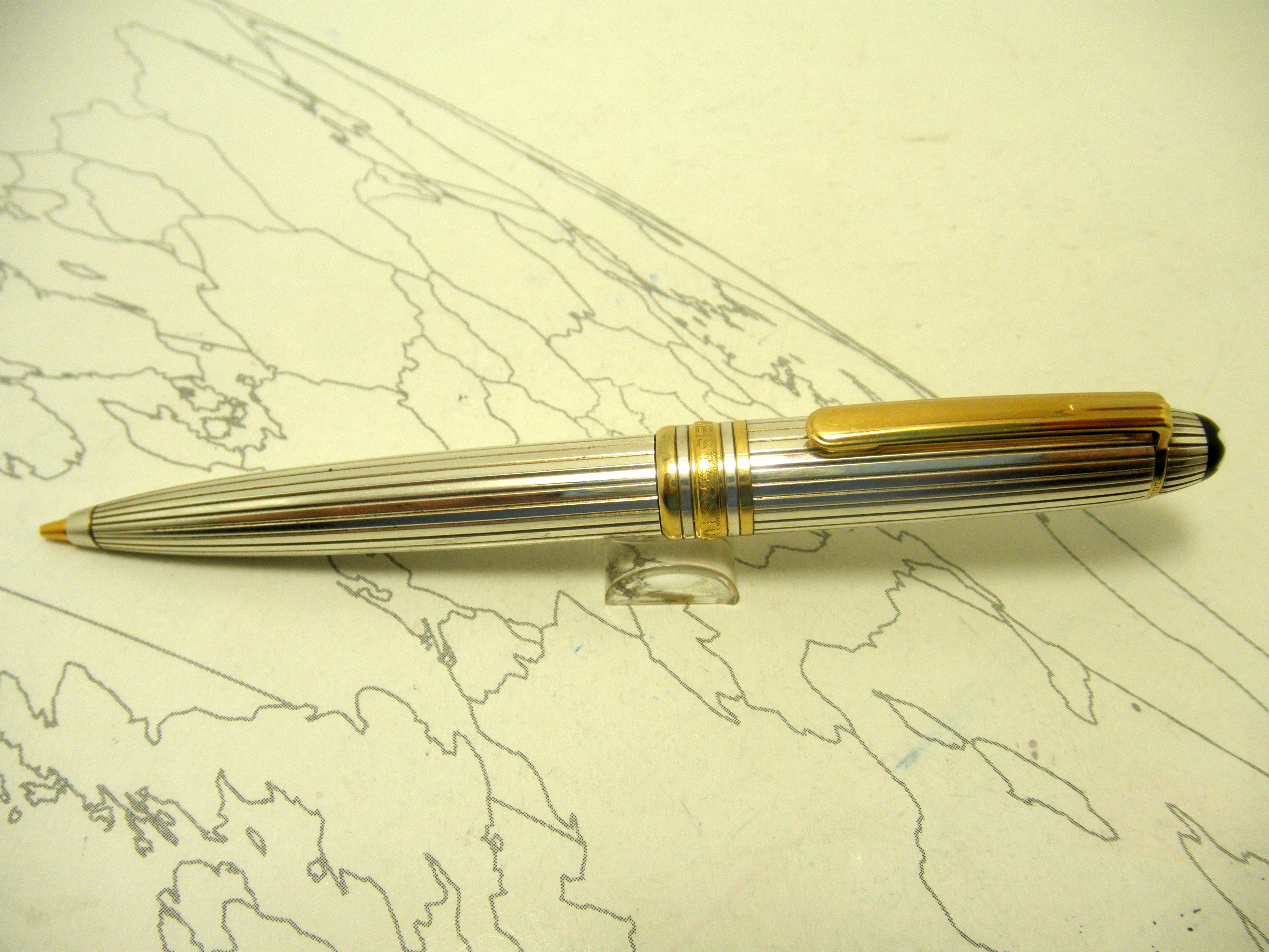 MontBlanc Mozart Sterling Silver Mechanical Pencil .7mm