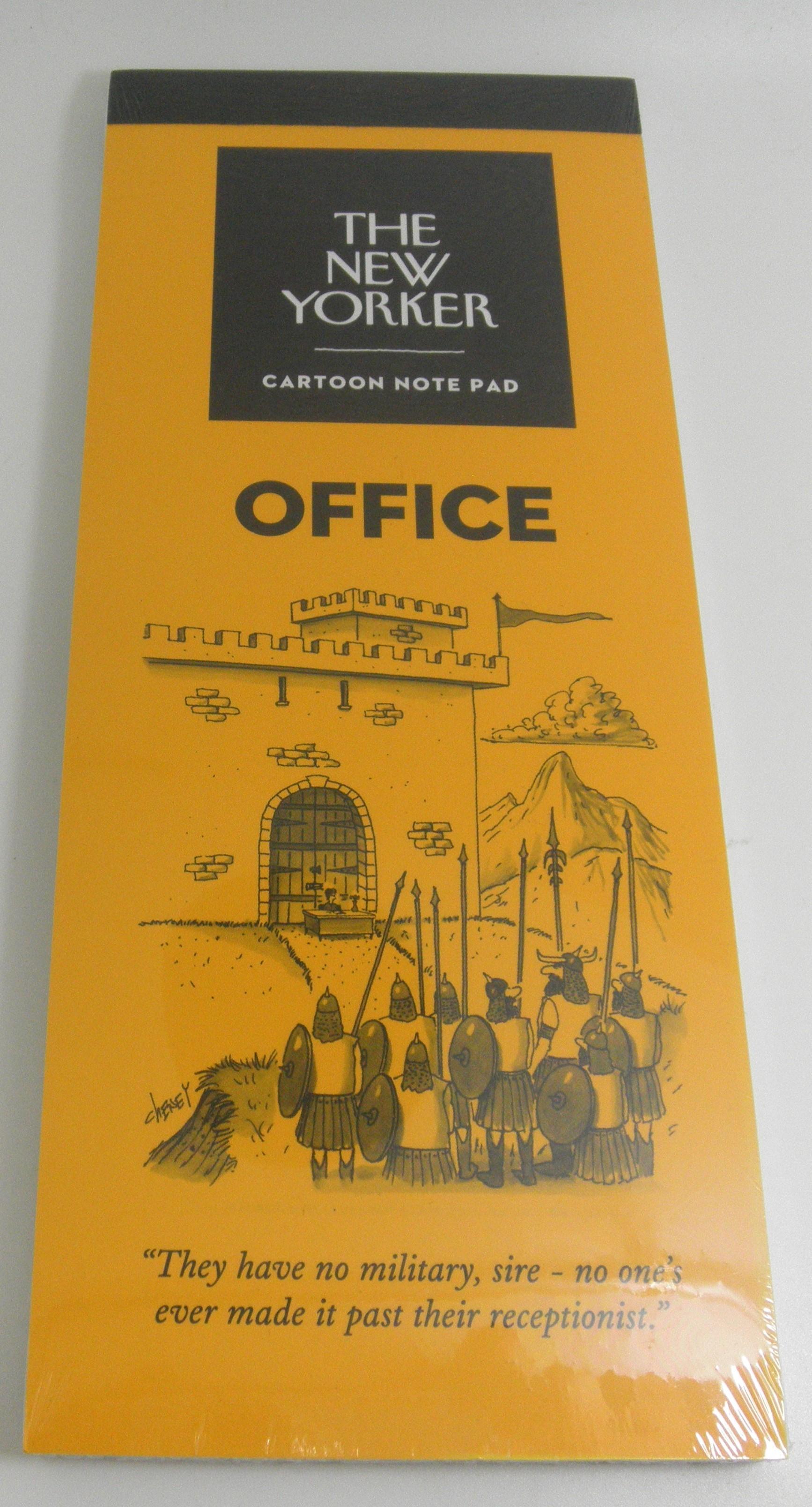 The New Yorker Cartoon Notepad Office